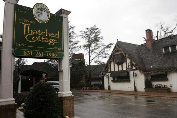 The Thatched Cottage in Centerport, seen on Jan.