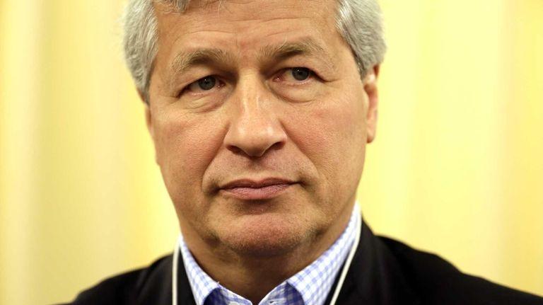CEO Jamie Dimon said JPMorgan Chase & Co.