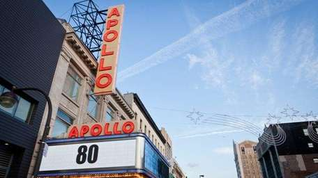 The iconic Apollo Theater -- whose stage has