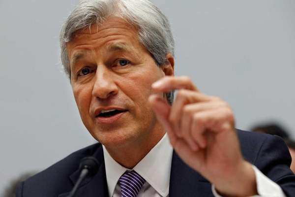 JPMorgan Chase CEO Jamie Dimon is getting a