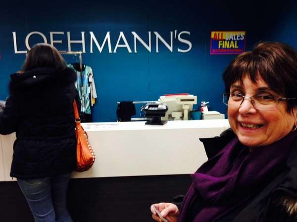 Jeanette Marinese, a Loehmann?s shopper for more than