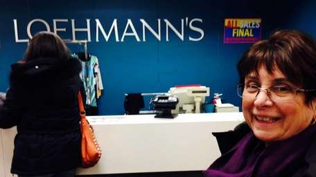 Jeanette Marinese, a Loehmann's shopper for more than