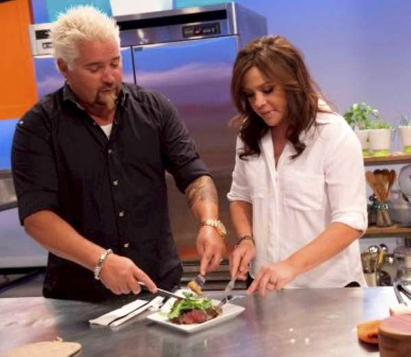 Guy Fieri and Rachael Ray on The Food
