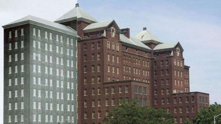 Kings Park Psychiatric Center, before and after