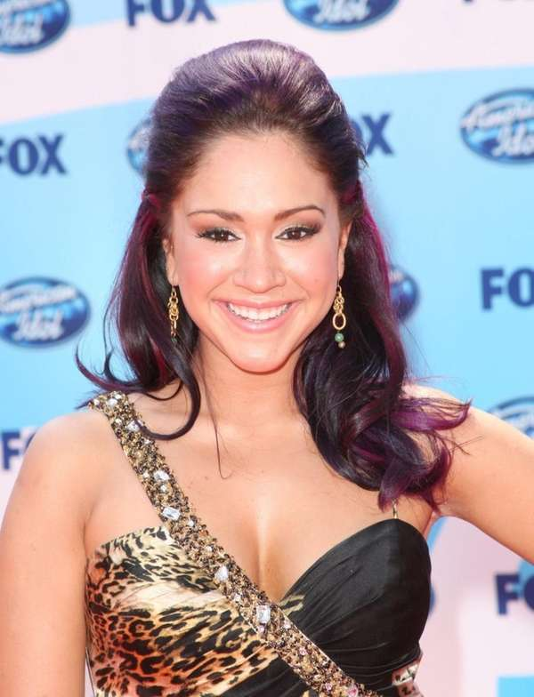 Diana DeGarmo at the American Idol Season 8