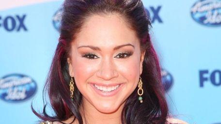 Diana DeGarmo at the American Idol Season 8