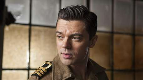 Ian Fleming (Dominic Cooper) at the interrogation room