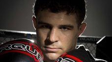 UFC fighter Al Iaquinta of Wantagh poses at