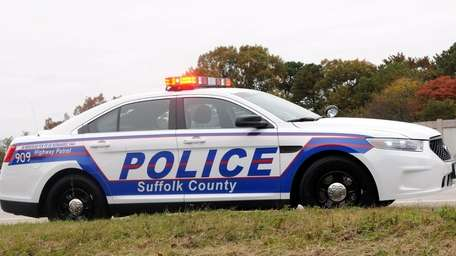 A new police cruiser pulls over a vehicle