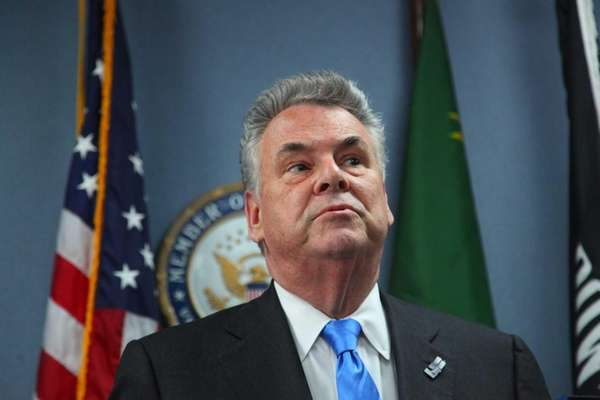 Rep. Pete King is shown in this 2013
