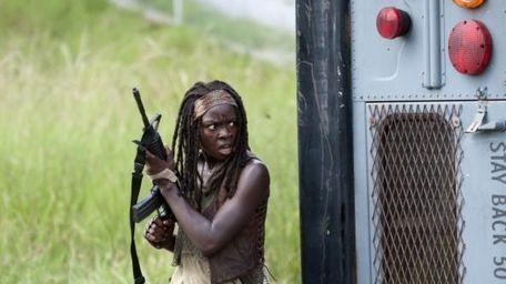 Danai Gurira as Michonne in