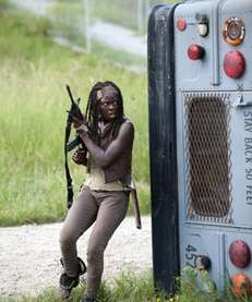 "Danai Gurira as Michonne in ""The Walking Dead"""