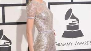 Taylor Swift wore a chain-mail gown by Gucci