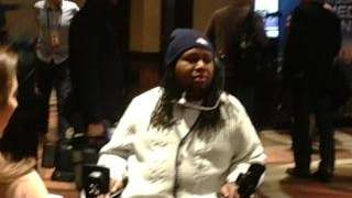Eric LeGrand, who was paralyzed while playing football