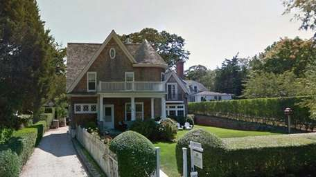 The Sag Harbor property recently purchased by comedian