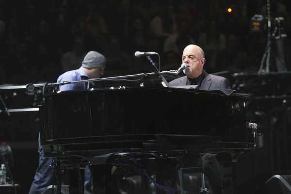 Billy Joel performs the first show of his