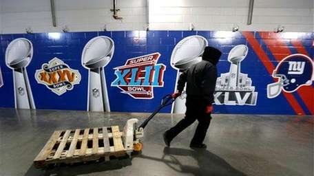 The Broncos are using the Jets' facilities and