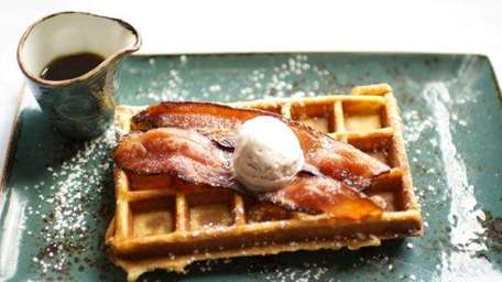 bacon waffles from Preserve24
