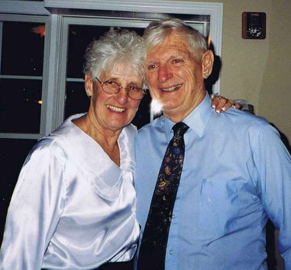"Lori and Harold ""Hal"" Salyer of Shoreham. The"