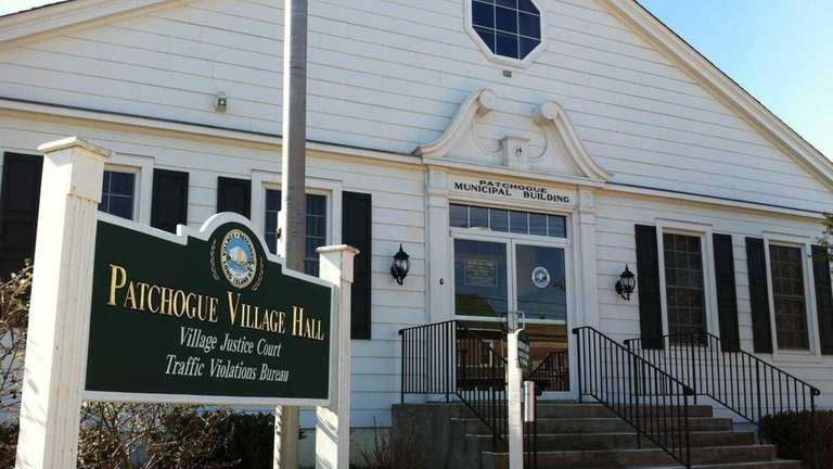 A view of Patchogue Village Hall, located at