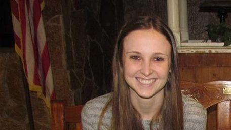 Kaitlin Cronin, 17, a senior at East Islip