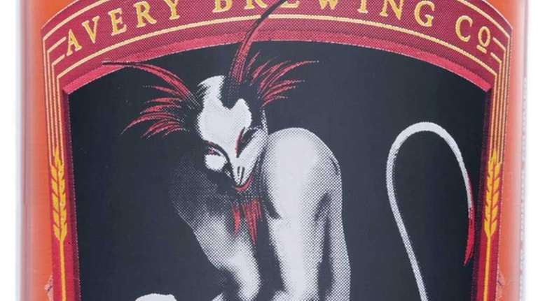 White Rascal beer from the Avery Brewing Company