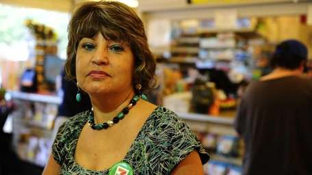 Patricia Orzano co-owns a 7-Eleven store with her