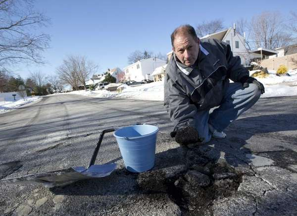Bob Fitzgerald, a Levittown man fed up with