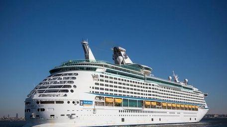 The Royal Caribbean cruise ship