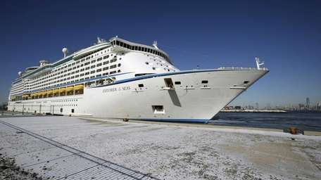 The Explorer of the Seas cruise ship is