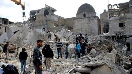 An anti-Bashar Assad activist group, which has been