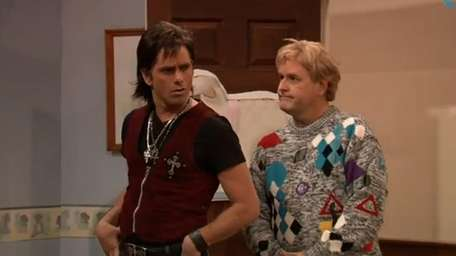 From left, Uncle Jesse (John Stamos) and Uncle