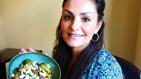 Suzy Krishnamoorthy of Nesconset with her dish, lentil