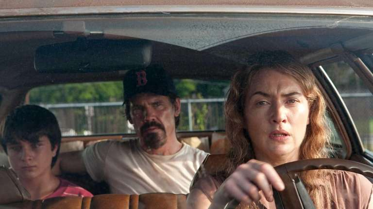 From left, Gattlin Griffith, Josh Brolin and Kate