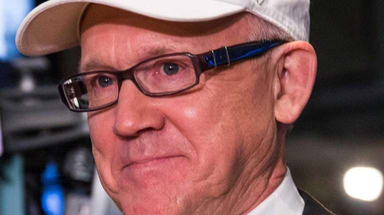 Woody Johnson, co-chairman of the Super Bowl Host
