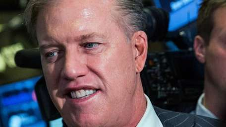 John Elway, executive vice president of football operations