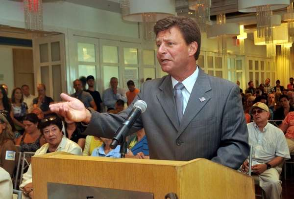 Nassau County Legislator David Denenberg, an opponent of