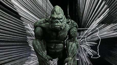 King Kong poses on stage during a