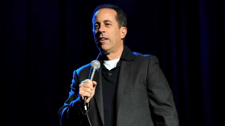 Jerry Seinfeld performs at The New York Comedy