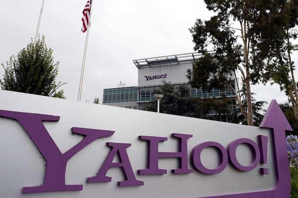 A look at Yahoo headquarters on July 17,