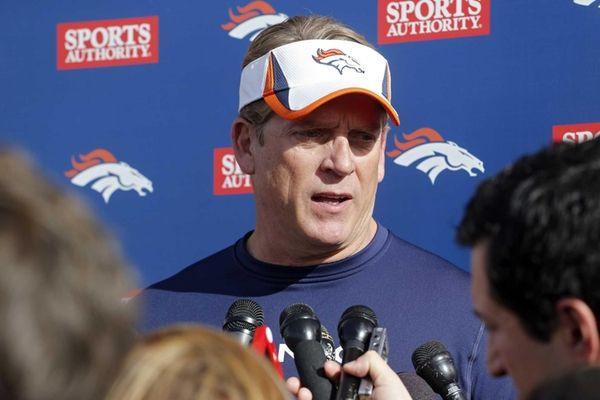 Denver Broncos defensive coordinator Jack Del Rio talks