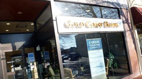 Gold Coast Bank office in Huntington Village. (Nov.