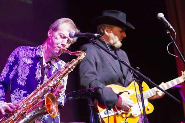 Paul Scher on sax and Gene Casey on