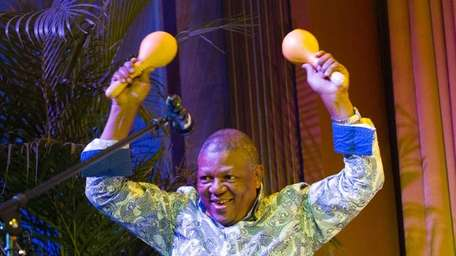 South African composer, vocalist and bassist Bakithi Kumalo