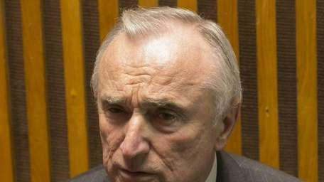 NYPD head Bill Bratton speaks to the meida