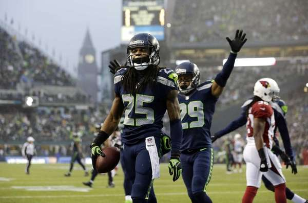 "The Seahawks' secondary has been nicknamed the ""Legion"
