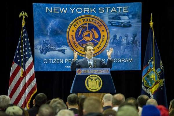 Gov. Andrew Cuomo hosts an emergency preparedness seminar