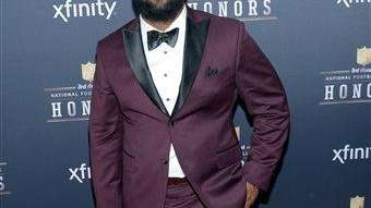 Sheldon Richardson arrives at the 3rd annual NFL