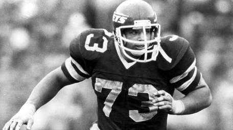 Jets defensive lineman Joe Klecko.