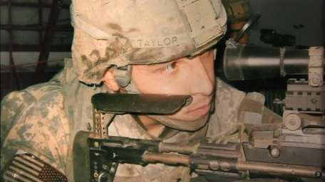 Michael Taylor was a sniper in the Army.
